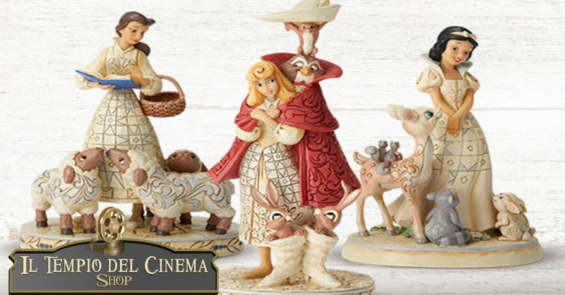 offerta vendita personaggi disney jim shore Roma - occasione statue disney in resina Roma