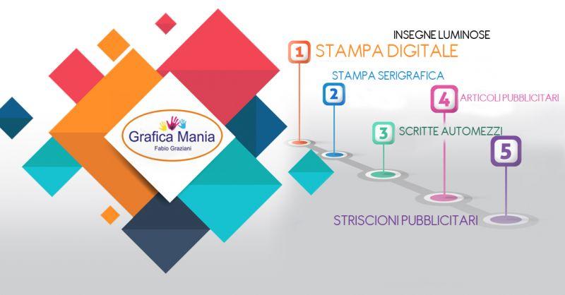 Offerta insegne digitali per automezzi aziende private a Salerno - Grafica Mania