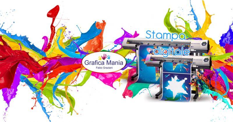 Offerta servizio stampa digitale Montesano sulla Marcellana - Grafica Mania