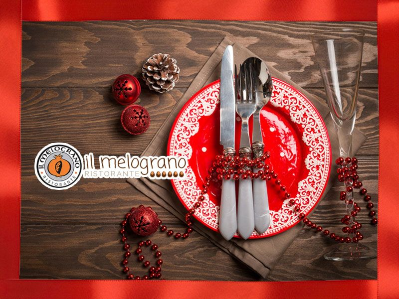 offerta pranzo natale ristorante - promozione menu ristorante il melograno natale 2017