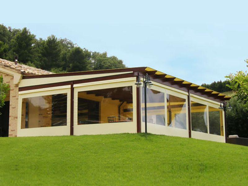 offerta occasione promozione tamponature laterali verande gazebo pergolati terni
