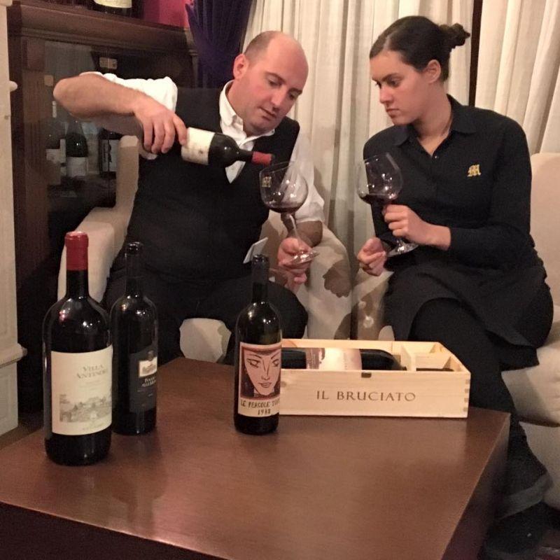 offerta su degustazione vini a vicenza trattoria moreieta ristorante rinomato di vicenza