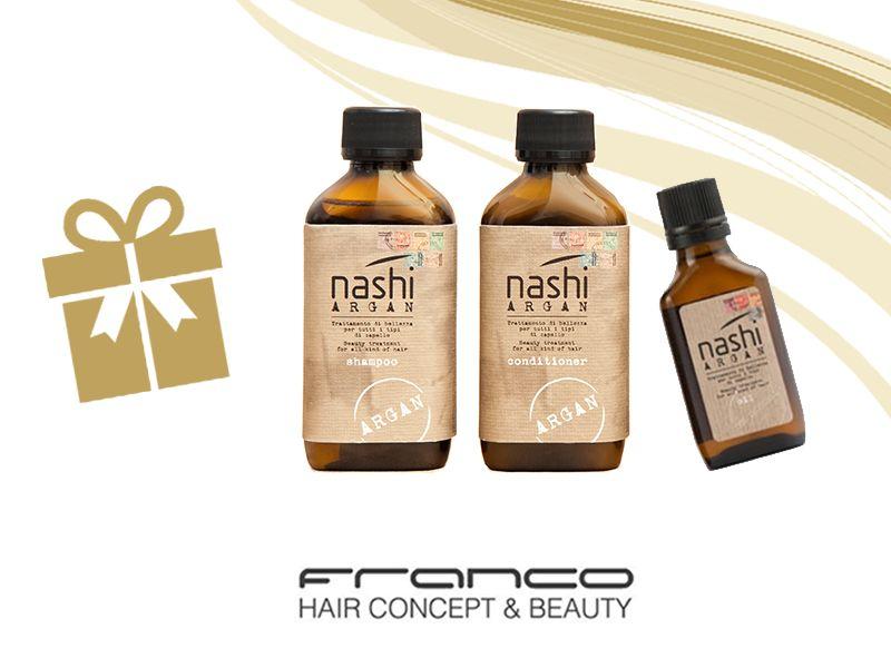 offerta nashi argan gift box edizione limitata - promozione confezione regalo nashi argan