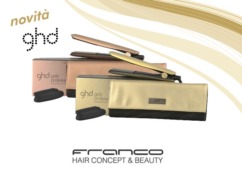 offerta nuova collezione 2018 piastra ghd styler - ghd styler earth gold