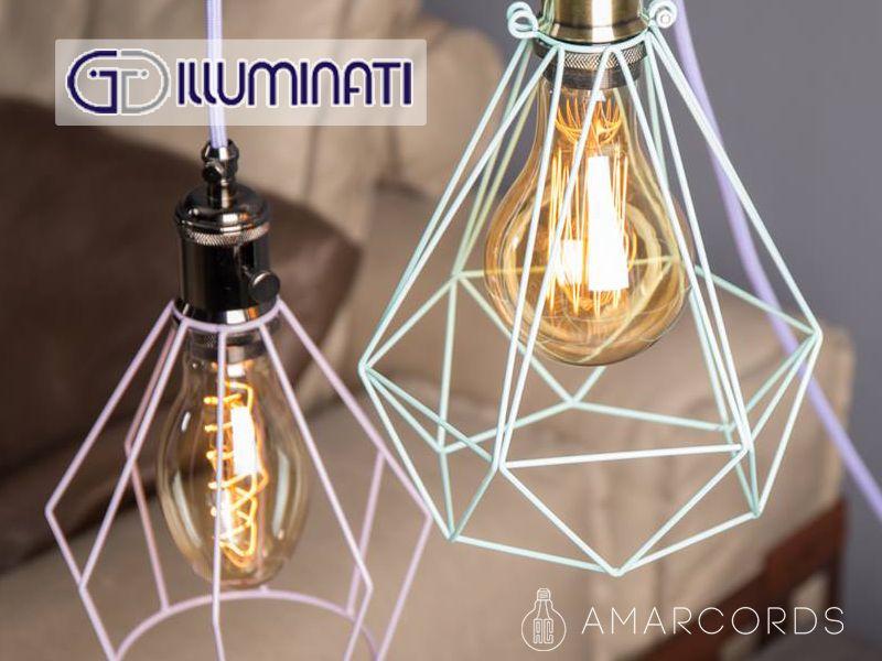 offerta lampada amarcords - promozione amarcords cage diamond - illuminati