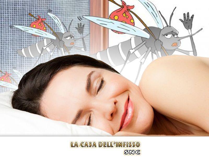 offerta zanzariere - promozione installazione zanzariere - la casa dell'infisso