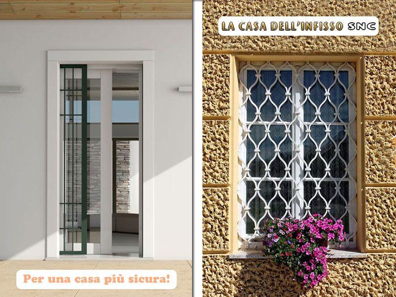 offerta grate di sicurezza  - promozione porte blindate - la casa dell'infisso