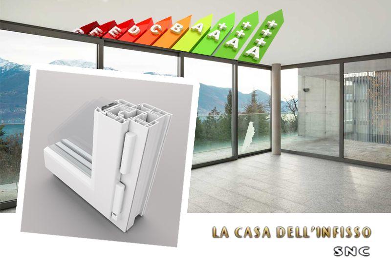 offerta infissi risparmio energetico - promozione finestre taglio termico - casa dell infisso