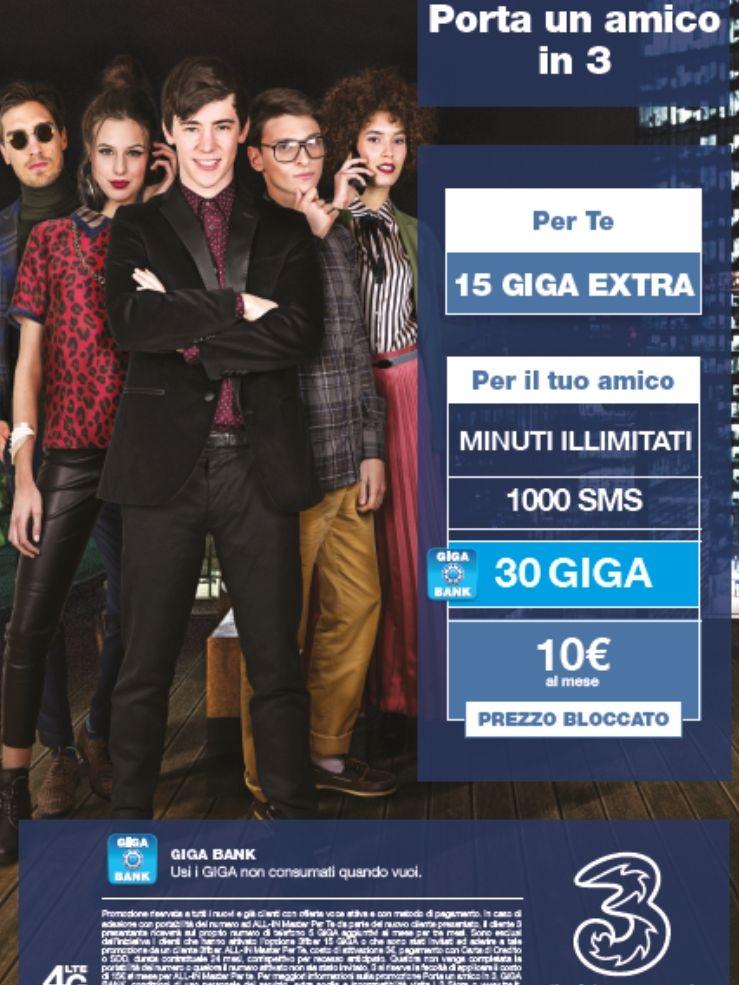 Promozione telefonia 3 - Offerta 3 mobile - Siena - Poggibonsi