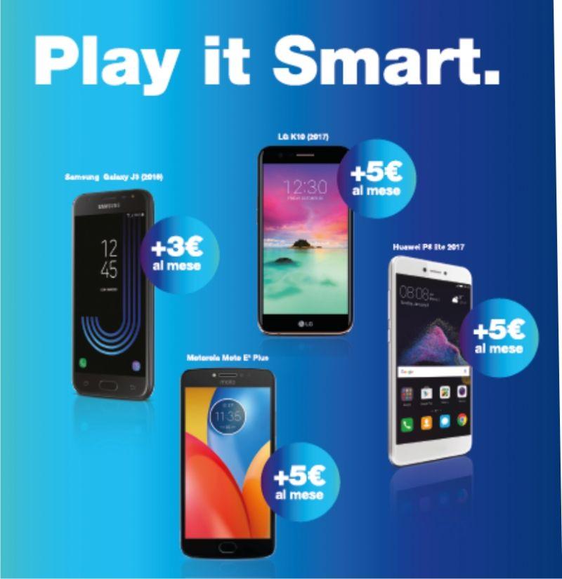 Promozione 3 Smartphone Siena - Offerta 3 Smartphone Poggibonsi