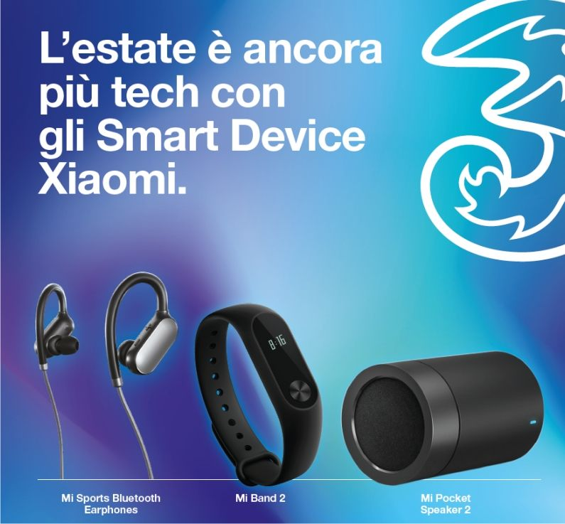 Promozione 3 smart device