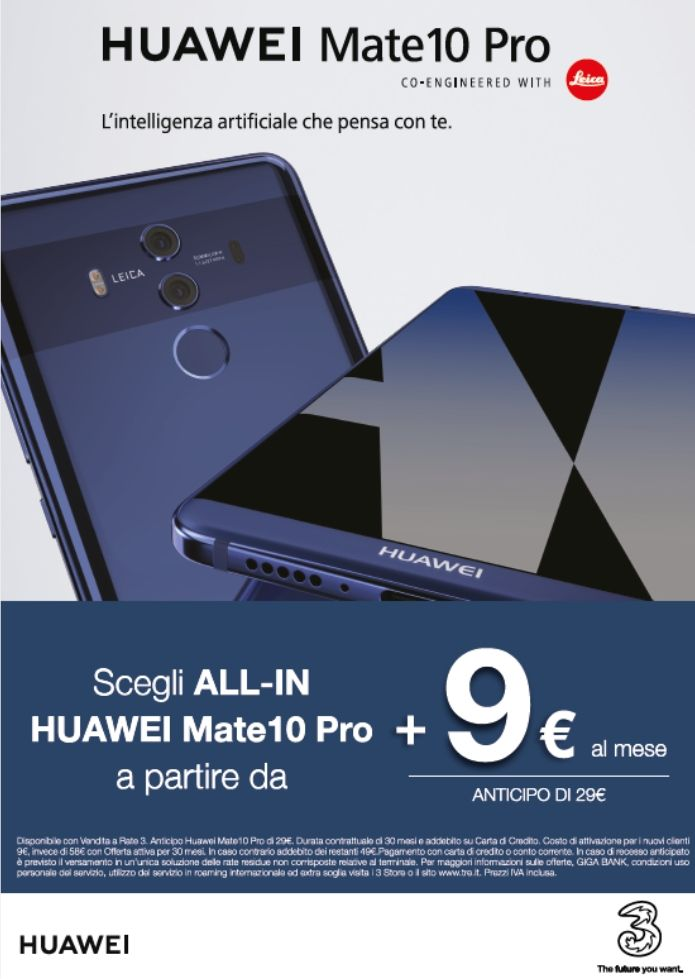 Promozione Huawei mate 10 Siena