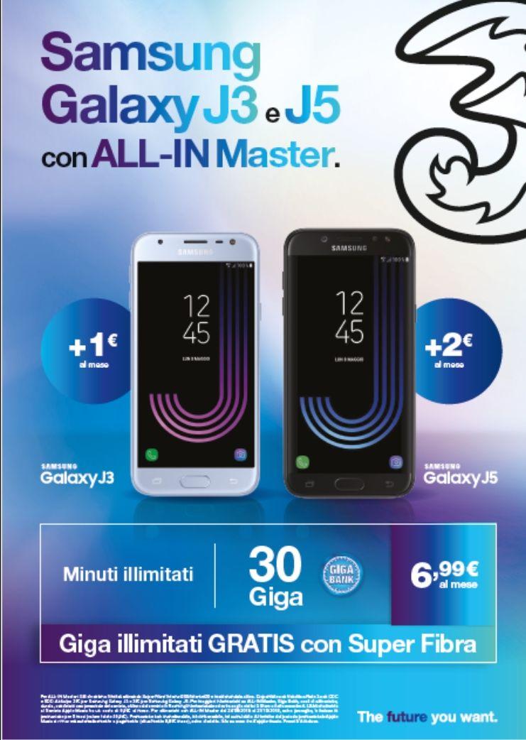 Promozione offerta Samsung negozi 3 siena e provincia
