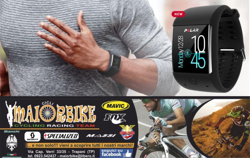 maiorbike ciclismo cardiofrequenzimetro da polso