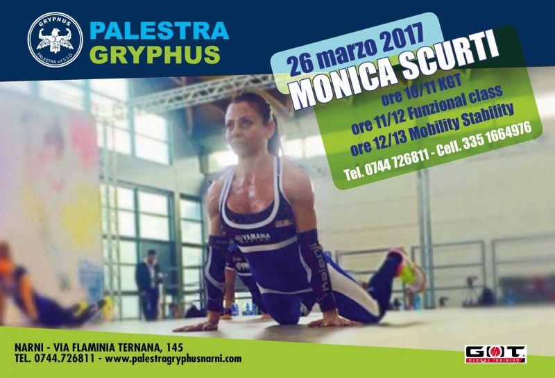 offerta monica scurti promozione kgt funzional class mobility stability palestra gryphus narni