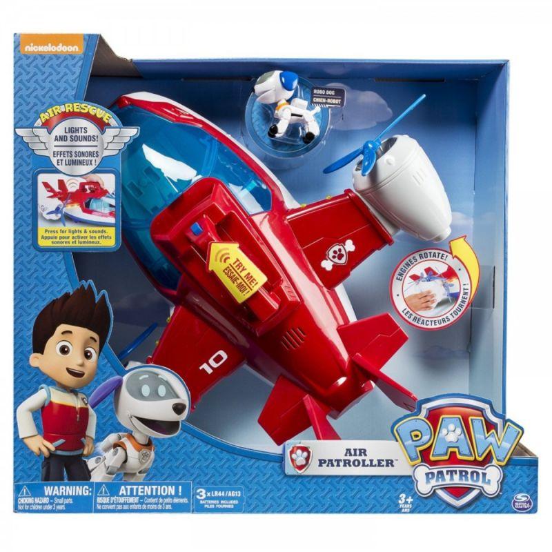 paw patrol aereo regalo bambini siena