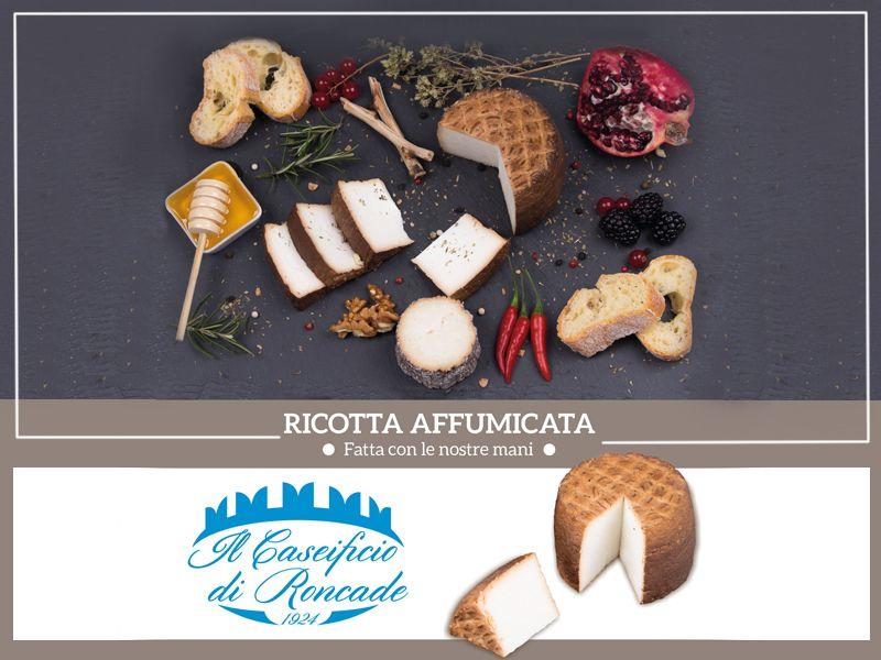 Offerta vendita e distribuzione ricotta affumicata artigianale - Caseificio di Roncade