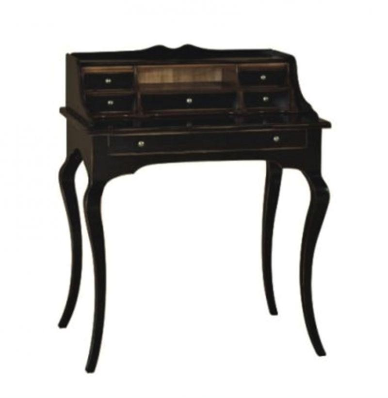 Scrittoio legno con piano estraibile