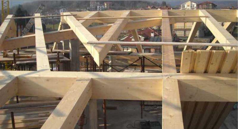 offerta vendita tetti pretagliati in legno imperia