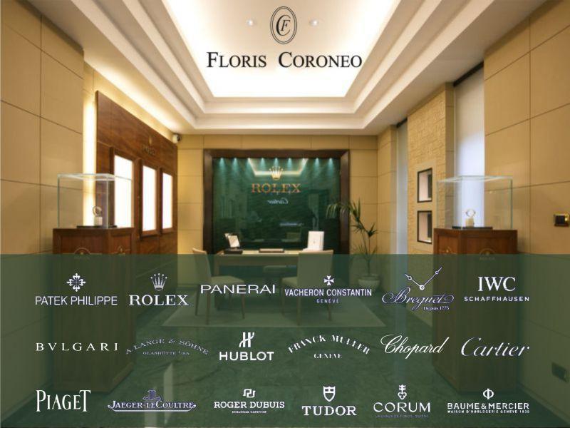 occasione orologi di lusso - offerta gioielli di lusso - Floris Coroneo