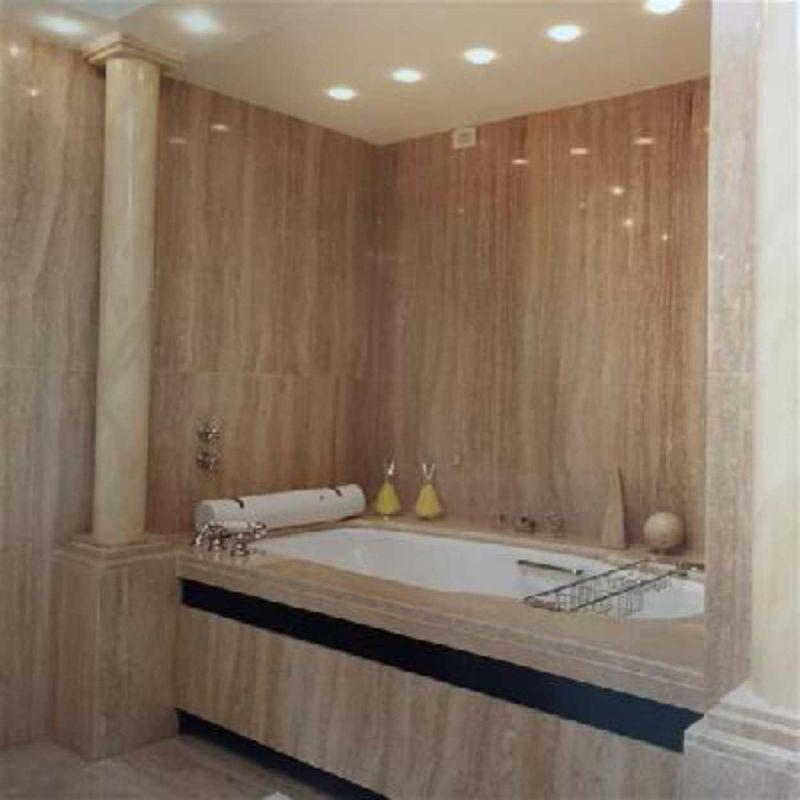 Rivestimenti esterni in pietra per muretti sanremo a - Rivestimento bagno in marmo ...
