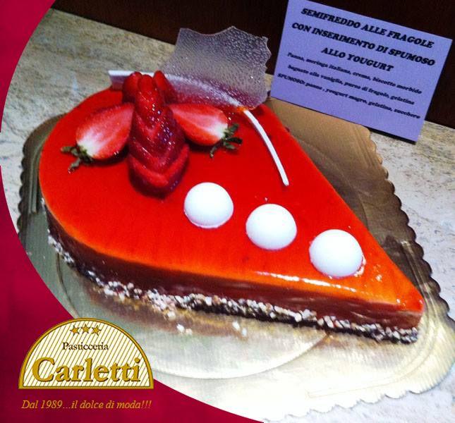 offerta dolce personalizzato promozione torta san valentino pasticceria carletti