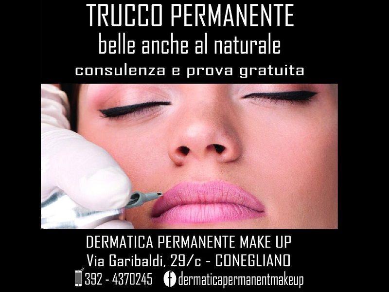 Offerta servizio contorno labbra permanent make up Conegliano Vittorio Veneto - Dermatica