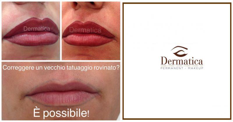 Offerta servizio correzione tatuaggi labbra - Promozione trucco semi permanente labbra