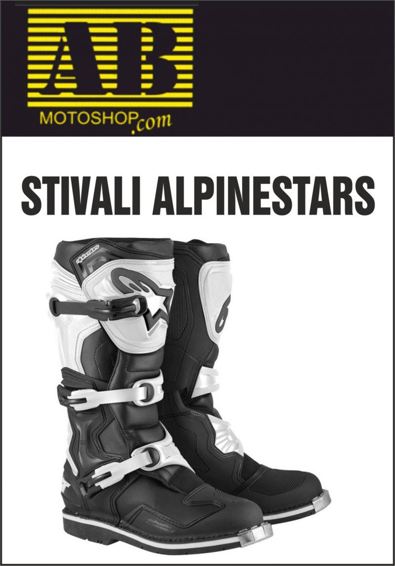 offerta stivali per moto alpinestars tech1 - occasione abbigliamento moto