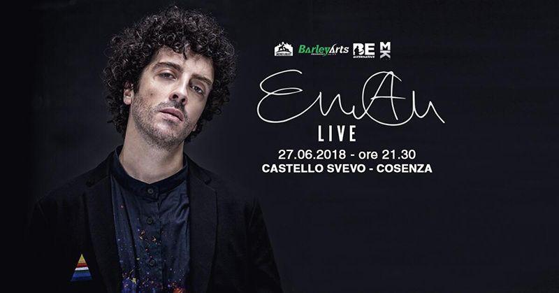 EMAN in concerto - 27 Giugno al Castello Svevo di Cosenza
