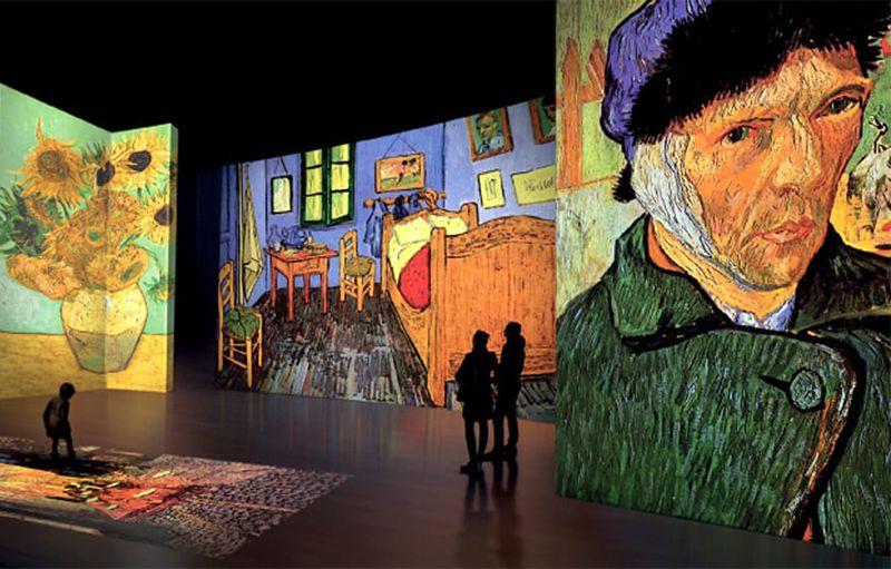 Mostra di Van Gogh Alive a Cosenza