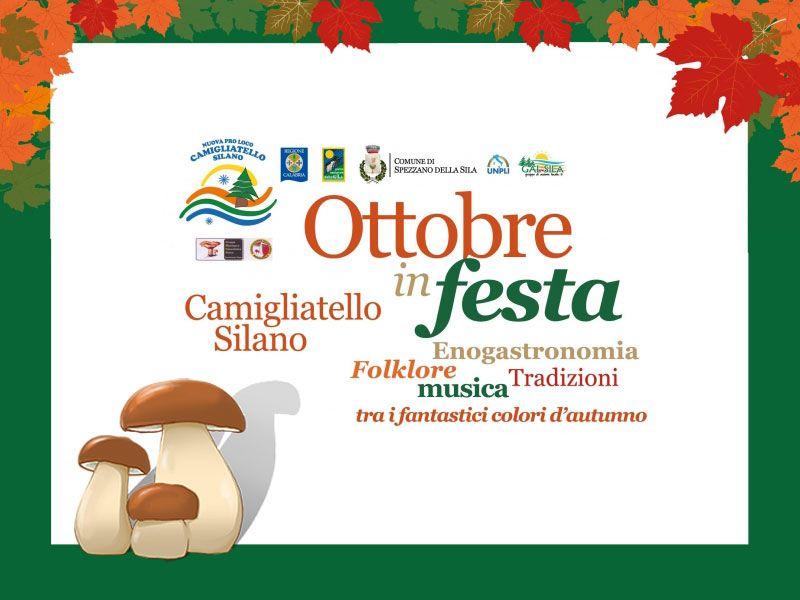 offerta stand prodotti tipici sila - promozione  ottobre in festa camigliattello silano 2018