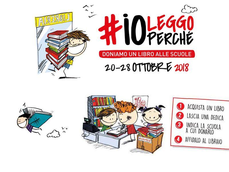 iniziativa ioleggoperche lettura nelle scuole - libri per le scuole