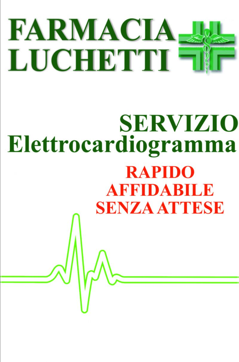 Da Farmacia Eredi Luchetti  puoi provare il nuovo servizio di Elettrocardiogramma