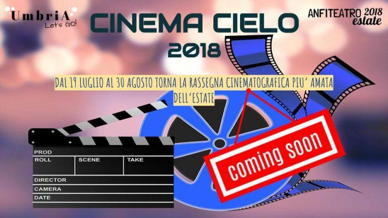 cinema - cielo - anfiteatro - umbria - Terni - 2018