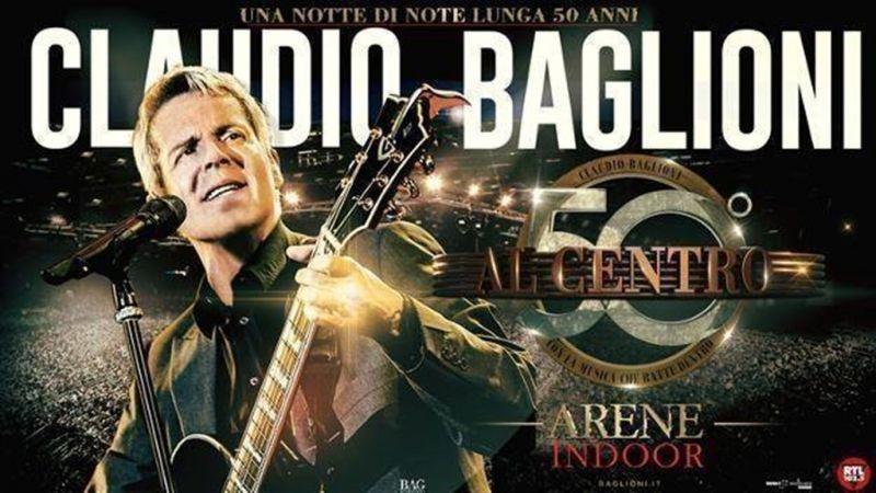 offerta biglietti claudio baglioni in centro tour - concerto baglioni perugia ottobre 2018
