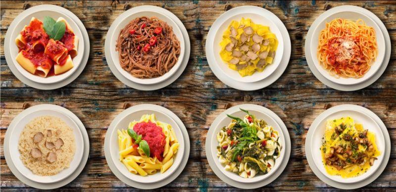 menu per i vegetariani da lorco