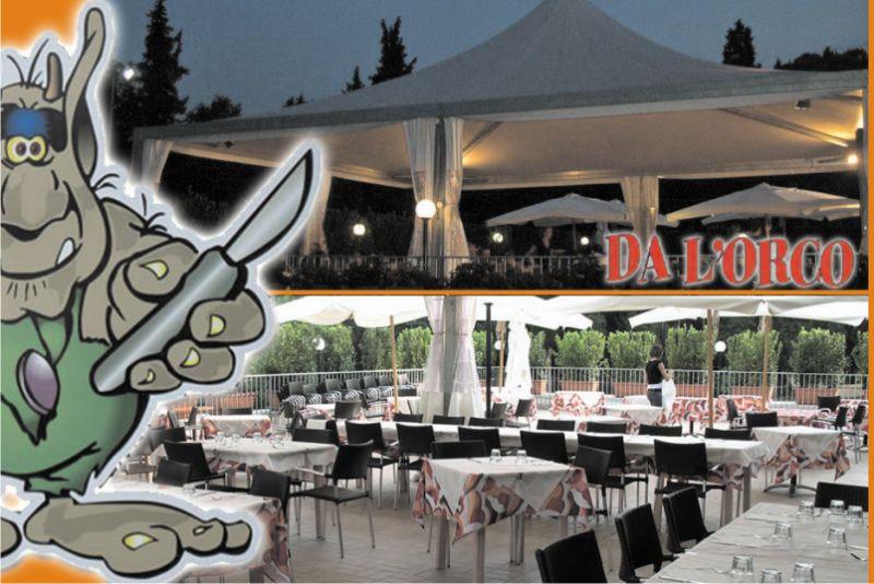 Promozione pizzeria con terrazza a Poggibons - Offerta ristorante all'aperto vicino a Siena