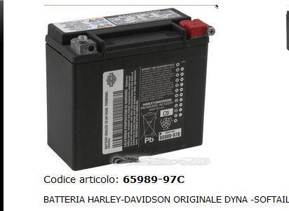 BATTERIA HARLEY DAVIDSON ORIGINALE 65989-97C