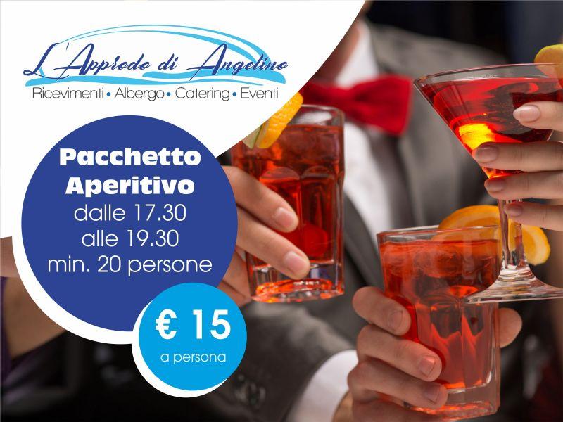 Offerta aperitivo - pacchetto aperitivo - L'Approdo di Angelino Pizzolungo