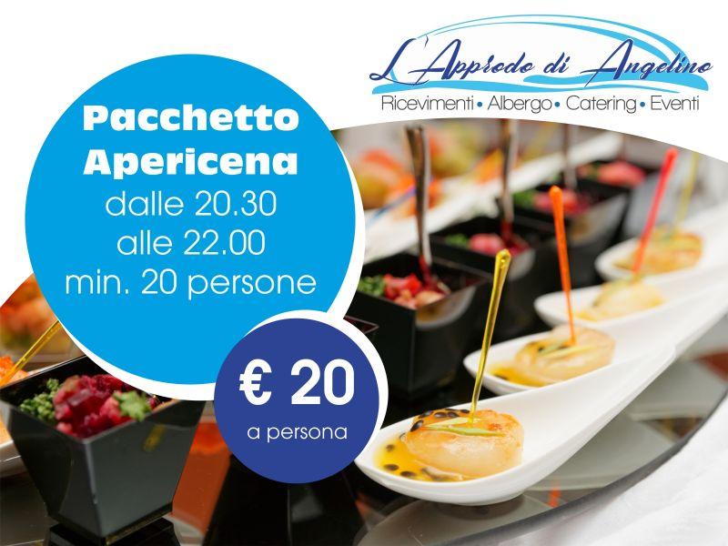 Offerta Apericena - pacchetto cena - L'Approdo di Angelino Pizzolungo