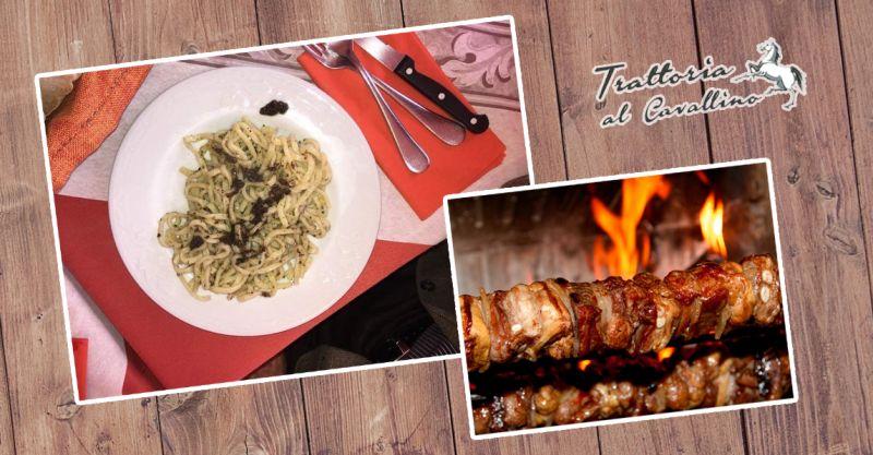offerta cucina casereccia umbra - promozione sihappy trattoria umbra - il cavallino