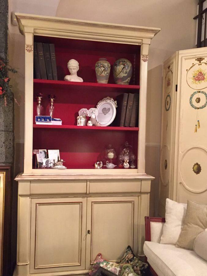offerta libreria - promozione stile '800 francese Casa Antica Arredamenti