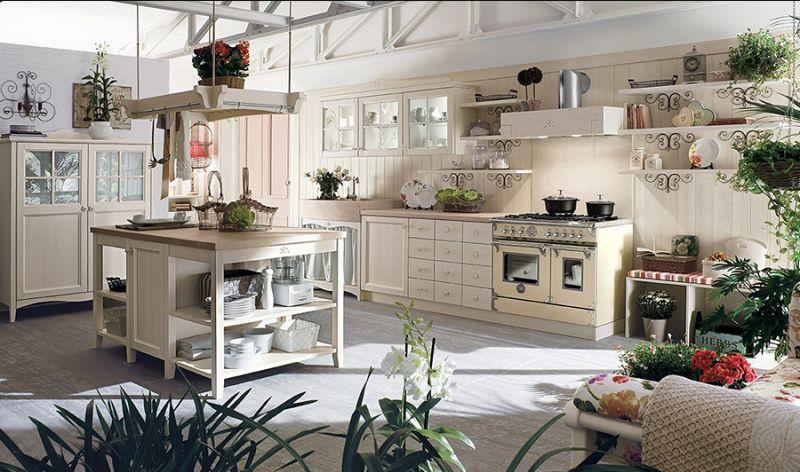Shabby Chic, mobili, cucine, soggiorni, accessori per la casa da Casa Antica Arredamenti