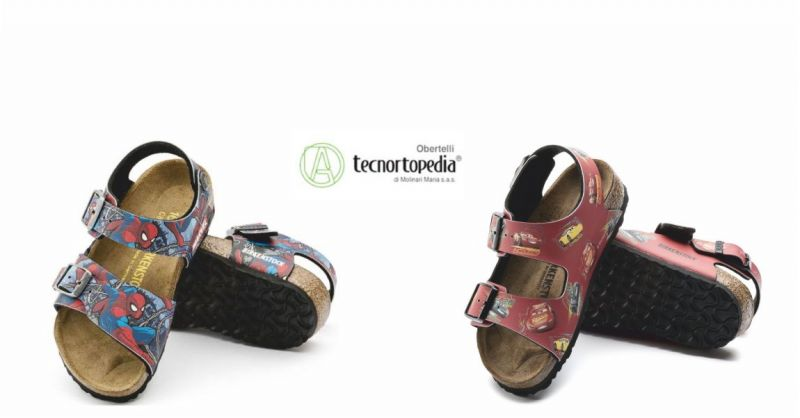 offerta vendita sandali birkenstock spiderman - occasione calzature estive per bambini