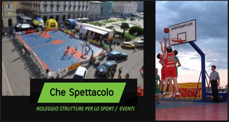 offerta noleggio strutture per lo sport, eventi - occasione noleggio attrezzature sportive