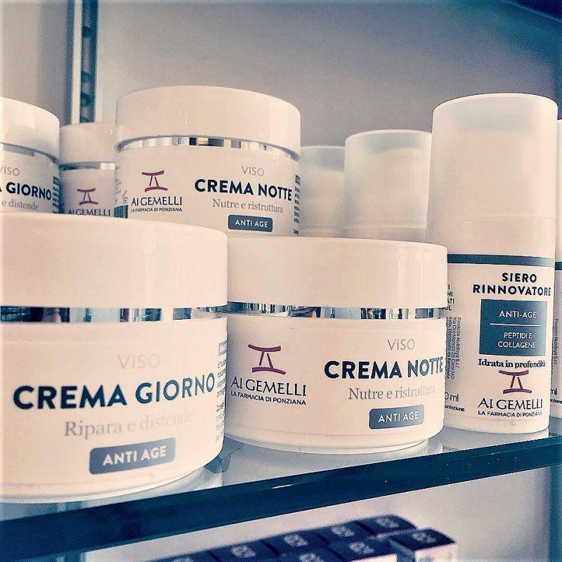 offerta crema viso antirughe sieri anti eta - occasione linea cosmetica ai gemelli beauty