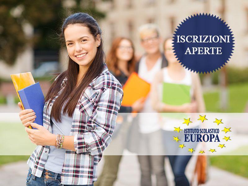 offerta iscrizione corso di recupero anni scolastici promozione istituto scolastico europa