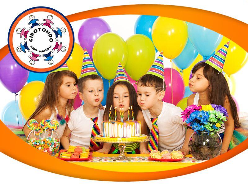 Offerta Organizzazione Feste di Compleanno - Promozione Festa Compleanno in Asilo - Girotondo