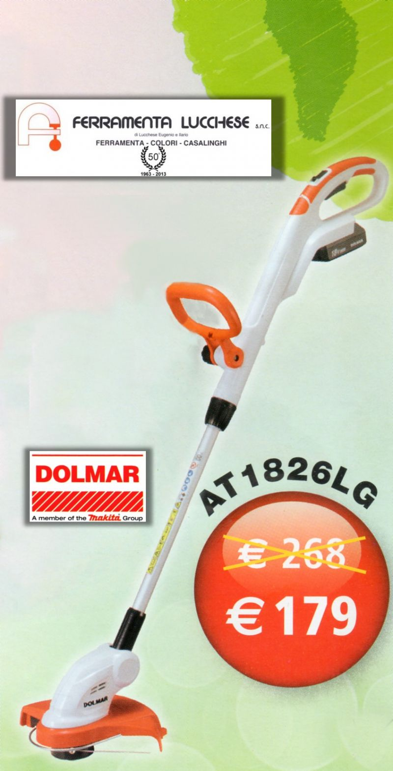 tagliabordi trimmer a batteria at1826l